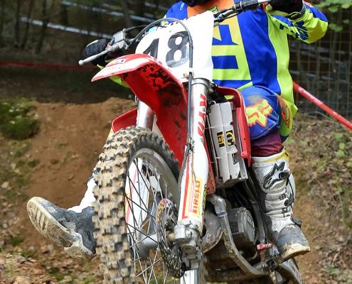 Simone Montagner, Honda #18